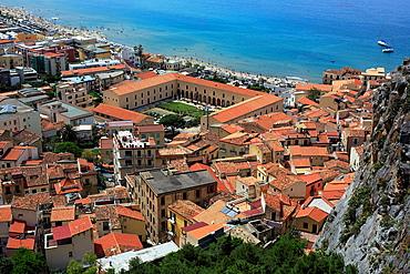 Cityscape, Cefalu, Sicily, Italy.
