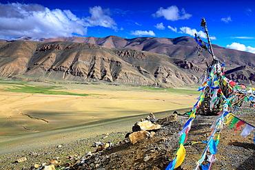 Sacred place, Shigatse Prefecture, Tibet, China.