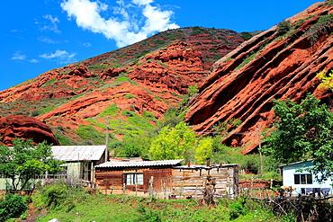 Jeti Oguz Rocks, near Karakol, Issyk Kul oblast, Kyrgyzstan.