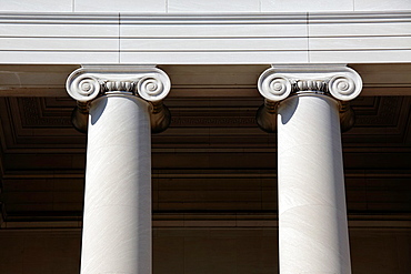 Ionic capitals at National Gallery, Washington D.C., USA.