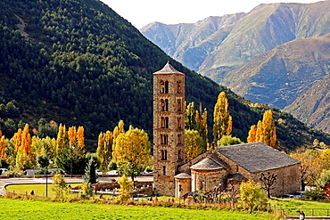 Romanesque Church of Sant Climent, Taull, Vall de Boi, Pyrenees Mountains, Catalonia, Spain