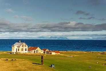 Ruralscape at Keflavik area, Iceland.