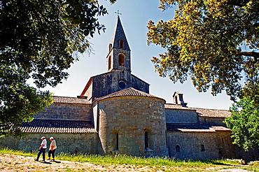 Europe, France, Var, Le Thoronet, Cistercian Abbey.