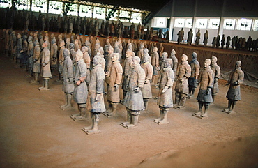 Tomb of First Emperor Qinshihuang¥s Terracotta warriors. Xi¥an. Shaanxi, China