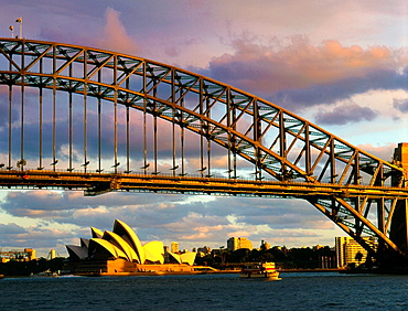 Australia, Sydney, Harbour Bridge, Opera House,