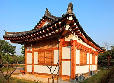 South Korea, Gyeongju, PEN Congress Memorial Library,.