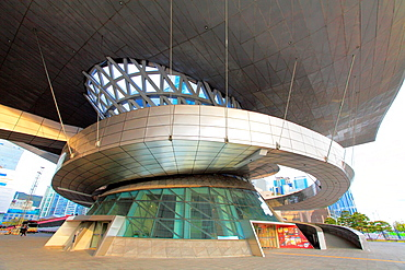 South Korea, Busan, Centum City, Busan Cinema Center,.