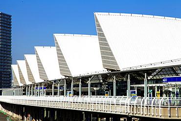 Japan, Yokohama, Minato Mirai, Exhibition Hall,.