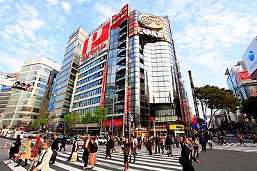 Japan, Tokyo, Ginza, street scene, people,.