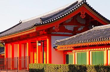 Japan, Kyoto, Sanjusangendo Temple,.