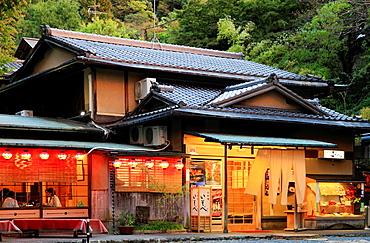 Japan, Kyoto, Maruyama Park, restaurant,.