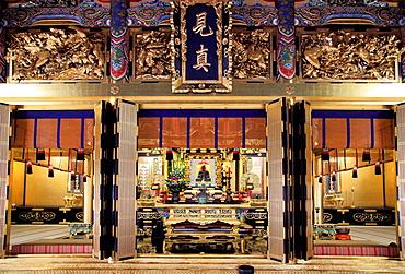 Japan, Kyoto, Nishi-Honganji Temple, interior,.