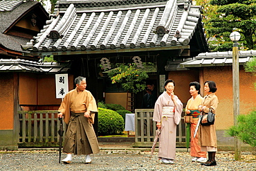 Japan, Kyoto, Fushimi Inari Taisha Shrine, people,.