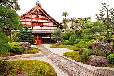Japan, Kyoto, Shokokuji Temple, garden,.