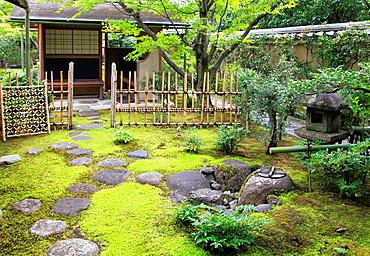 Japan, Kyoto, Daitokuji Temple, Oubai-in, garden,.