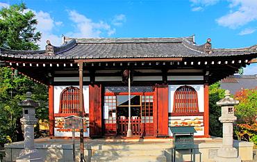 Japan, Kyoto, Arashiyama, buddhist temple,.