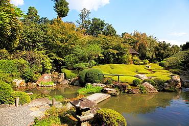 Japan, Kyoto, Taizo-in Zen Buddhist Temple, garden,.