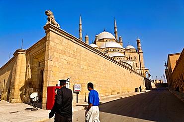 Mohamed Ali mosque in citadel.cairo.