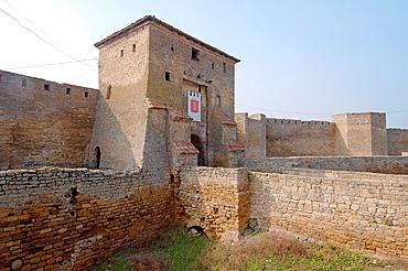 The main gate, Akkerman fortress (white rock, white fortress), Belgorod-Dnestrovskiy, Ukraine, Eastern Europe.
