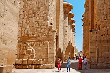 Karnak Temple Complex, Luxor (Thebes), Egypt, Africa.