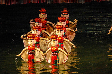 Traditional Puppet Theatre In Hanoi, Vietnam