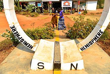 the equator-line in Uganda