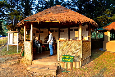 gorillas visitor camp in Bwindi Impenetrable Forest, Uganda