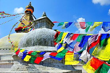Buddhist stupa of Boudhanath, Kathmandu, Nepal