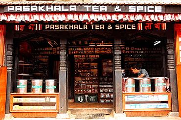 Shop species, Bhaktapur, Nepal