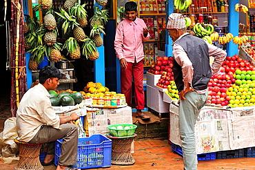 Fruit shop, Bhaktapur, Nepal