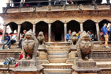 Jagannarayan Hindu temple, Durbar Square, Patan, Nepal