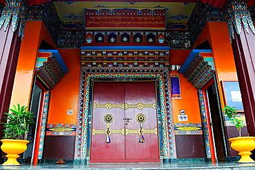 Tibetan Buddhist Monastery of Tashiling, Pokhara, Nepal