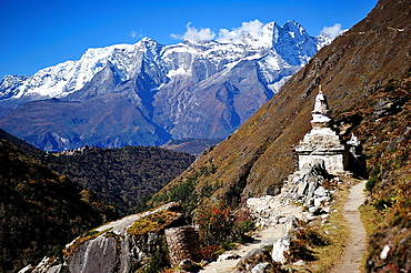 Sagarmatha National Park, the Himalaya range, Khumbu area, Solukhumbu District, Sagarmatha Zone, Nepal