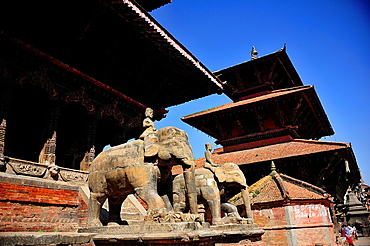 Hindu temples, Durbar Square, Patan, Nepal