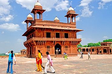 Diwan-i-Khas, or Hall of Private Audience, Fatehpur Sikri, Uttar Pradesh state, India