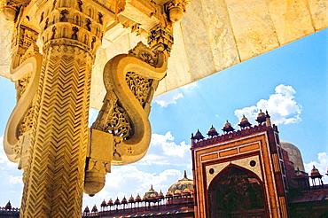 Jama Masjid, mosque, Fatehpur Sikri, Uttar Pradesh state, India