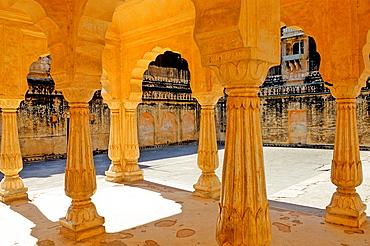Amber Fort or Amer Palace, next to Jaipur, Rajasthan state, India