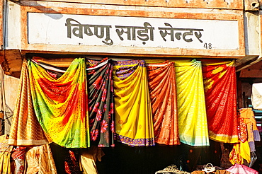 Colourful clothes, Jaipur, Rajasthan state, India