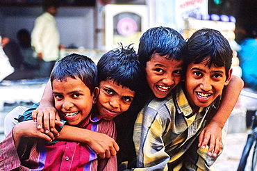 Children, Bikaner, Rajasthan state, India