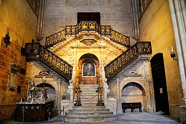 Golden stairs, Cathedral, Burgos, Spain