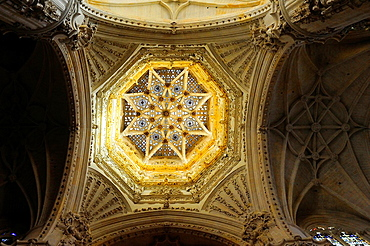 Openwork star vault, Cathedral, Burgos, Spain