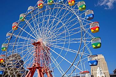big wheel at luna park,sydney.