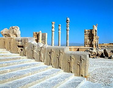 Apadana (columned hall), Persepolis, Iran