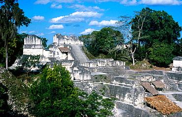 Tikal Maya ruins, Yucatan, Guatemala