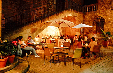 Bar, Gothic quarter, Barcelona, Spain