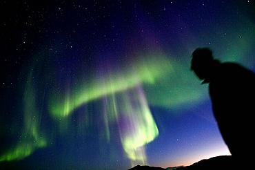 Northern lights or Aurora Borealis, Greenland