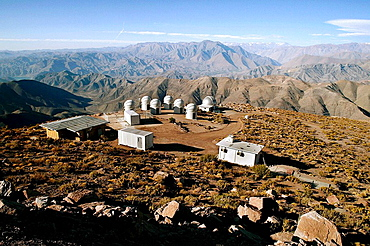 Astronomical Observatory of Cerro Pachon, Coquimbo region, Chile