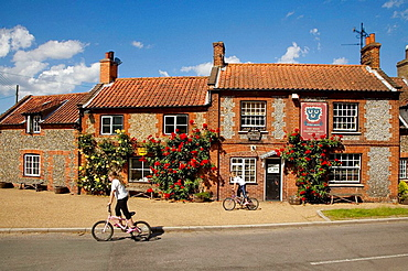 Village Pub Wareham North Norfolk June