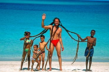 Rasta man, Saint Thomas, U, S, Virgin Islands
