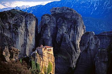 Roussanou Monastery, Meteora, Thessaly, Greece